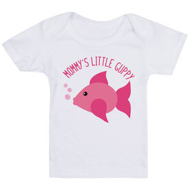 Swimming Baby T-Shirt - Mommy's Litttle Guppy