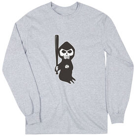 Baseball Long Sleeve Tee - Baseball Reaper