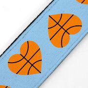Basketball Juliband No-Slip Headband - Basketball Hearts