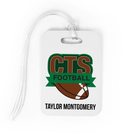Football Bag/Luggage Tag - Custom Logo