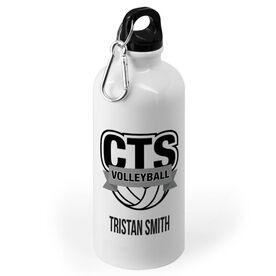 Volleyball 20 oz. Stainless Steel Water Bottle - Custom Logo