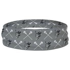 Guys Lacrosse Multifunctional Headwear - Crossed Sticks Pattern RokBAND