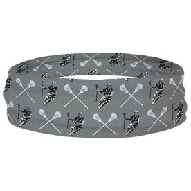 Guys Lacrosse Multifunctional Headwear - Crossed Sticks Pattern RokBAND