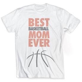 Vintage Basketball T-Shirt - Best Mom Ever