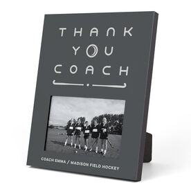 Field Hockey Photo Frame - Thank You Coach