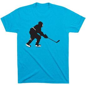 Hockey Tshirt Short Sleeve Hockey Player