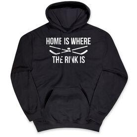 Hockey Standard Sweatshirt - Home Is Where The Rink Is