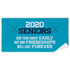 Hockey Premium Beach Towel - 2020 Year Ended Early But Friendships Last Forever