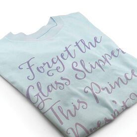 Vintage Gymnastics T-Shirt - Forget The Glass Slipper This Princess Doesn't Need Shoes