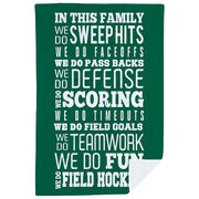 Field Hockey Premium Blanket - We Do Field Hockey