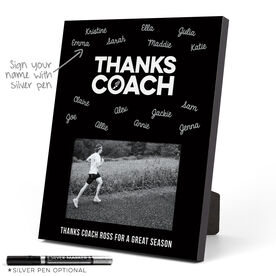 Track and Field Photo Frame - Coach (Autograph)