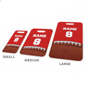 Football Bag/Luggage Tag - Personalized Football Image