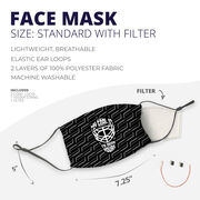 Hockey Face Mask - My Goal Is To Deny Yours Goalie