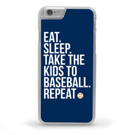 Baseball iPhone® Case - Eat Sleep Take The Kids to Baseball