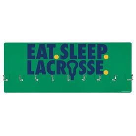 Girls Lacrosse Hooked on Medals Hanger - Eat Sleep Lacrosse