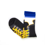 Hockey Woven Mid-Calf Socks - Hockey Skate