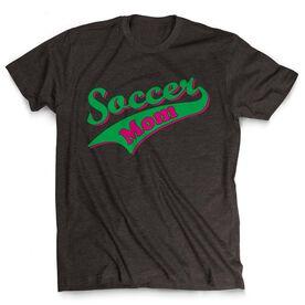 Soccer Tshirt Short Sleeve Varsity Soccer Mom