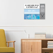 """Personalized 12.5"""" X 4"""" Removable Wall Tile - Baby Nursery"""