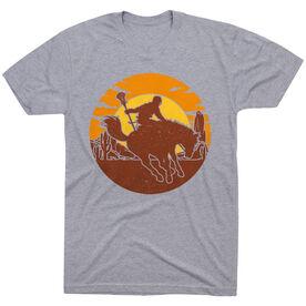 Guys Lacrosse Short Sleeve T-Shirt - Giddy-Up