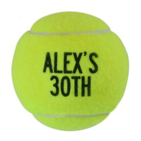 Personalized Birthday Tennis Ball