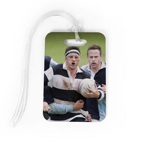 Rugby Bag/Luggage Tag - Custom Photo