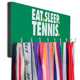 Tennis Hooked on Medals Hanger - Eat Sleep Tennis