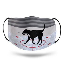 Hockey Face Mask - Howe the Hockey Dog Rink