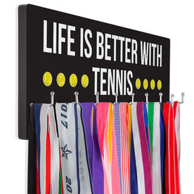 Tennis Hook Board Life Is Better With Tennis