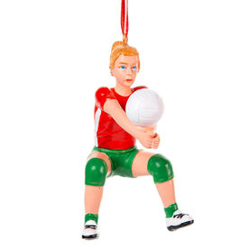 Volleyball Ornament - Volleyball Player