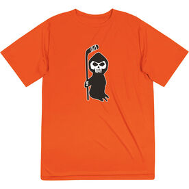 Hockey Short Sleeve Performance Tee - Hockey Reaper
