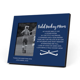 Field Hockey Photo Frame - Field Hockey Mom Poem