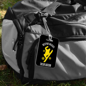 Snowboarding Bag/Luggage Tag - Personalized Team