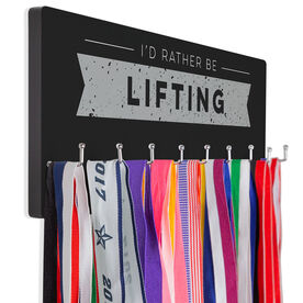 Cross Training Hook Board I'd Rather Be Lifting