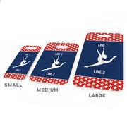 Gymnastics Bag/Luggage Tag - Personalized Gymnastics Team with Gymnast