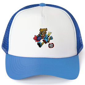 Seams Wild Football Trucker Hat - Spotz