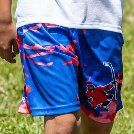 Celly Tie-Dye Hockey Shorts