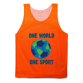 Soccer Pinnie - One World One Sport