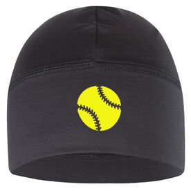 Beanie Performance Hat - Softball Icon