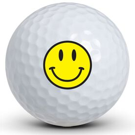 Smiley Face Golf Balls