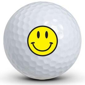 Smiley Face Golf Balls