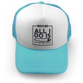 Wrestling Trucker Hat All I Do Is Pin