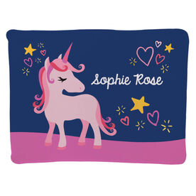 Personalized Baby Blanket - Unicorn