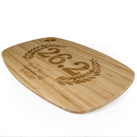 Rectangle Laser Engraved Bamboo Cutting Board 26.2 Vine Crest