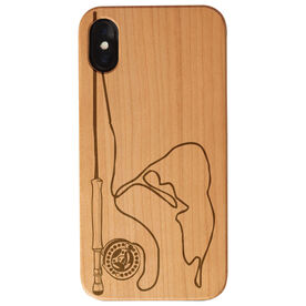 Fly Fishing Engraved Wood IPhone® Case - Nantucket Fishing