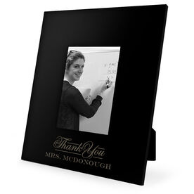 Teacher Engraved Picture Frame - Thank You Teacher