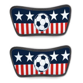 Soccer Repwell® Sandal Straps - Stars and Stripes
