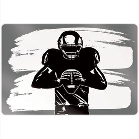 "Football 18"" X 12"" Aluminum Room Sign - Ready For Anything"