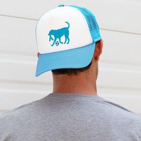 Soccer Trucker Hat Dogs