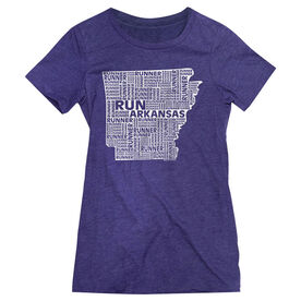 Women's Everyday Runners Tee Arkansas State Runner