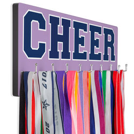 Cheerleading Hooked on Medals Hanger - Word